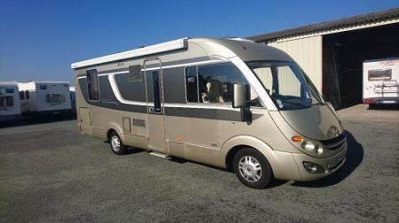 camping car BURSTNER ELEGANCE I 730 modele 2010