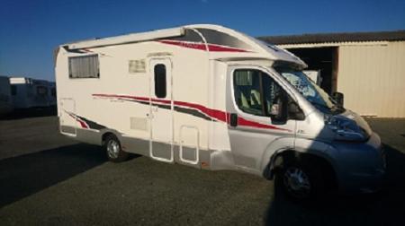 camping car RIMOR 69 PLUS 69 PLUS EUROPEO SILVER LINE modele 2011