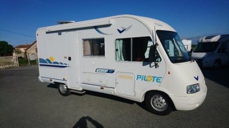 camping car PILOTE GALAXY 40 GALAXY 40 modele 2004