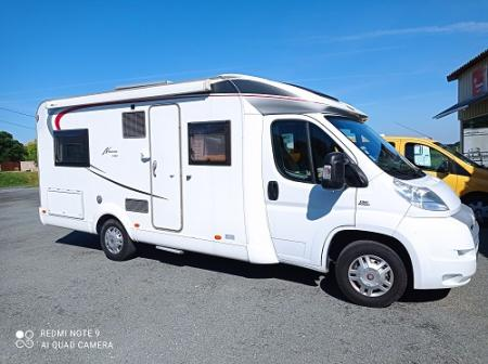 camping car BURSTNER NEXXO T660 modele 2012
